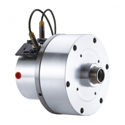 Compact style Rotary Hydraulic Cylinder with Stroke Control and Safety Device