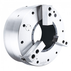 Large Thru-Hole Air Chuck(Double speed jaw stroke)